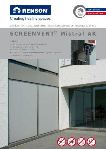 SCREENVENT® Mistral AK