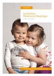 Intensivkurs Pädiatrische Hepatologie - Kinder-Gastroenterologie ...