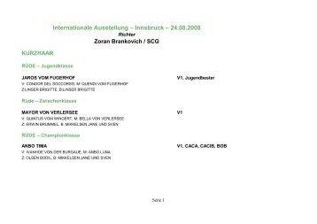 Ausstellung Innsbruck international