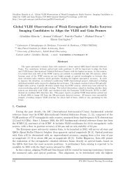 Global VLBI Observations of Weak Extragalactic Radio Sources - IVS