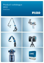 Product catalogus 2012 - Faro