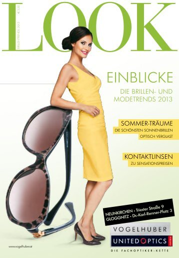 EINBLICKE - Vogelhuber United Optics
