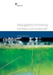 Renaturierung in der Schweiz - IG Steinbruch Nieder-Ramstadt