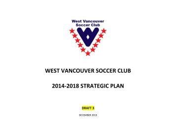 WVSC 2014-2018 Strategic Plan - Draft 3 Jan 6 2014