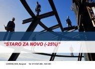 """""""STARO ZA NOVO (-25%)"""""""