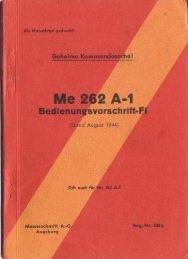 Page 1 Page 2 Reg.-N r. 286 a Geheime Kommandosache! Me262 ...