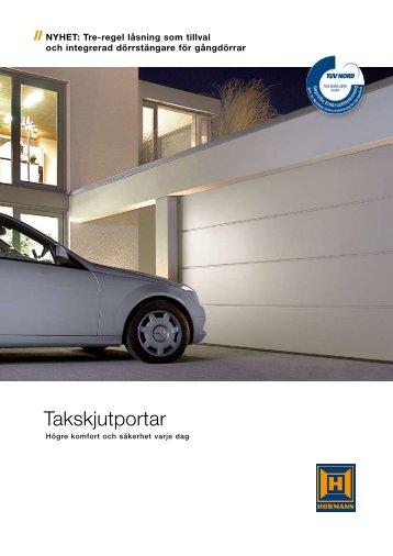 Takskjutportar - Garageportexperten