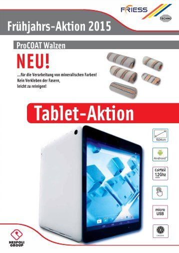 Fries Tablet Aktion