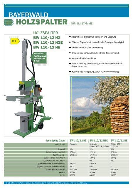 BAYERWALD - Gartentechnik.com