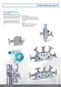 Armături pentru aparatele de măsură, reglare şi control - Page 7