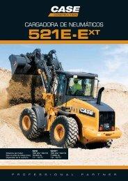 Case Cargadoras de neumáticos 521E - Interempresas