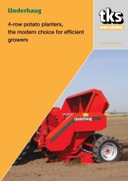 4-row potato planters, the modern choice for efficient growers - TKS AS