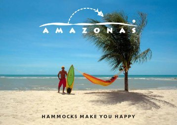 HAMMOCKS MAKE YOU HAPPY