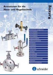 Schneider Dokumentation - Katalog