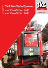 TKS FeedRobotSystem - K2 FeedRobot 1600 - K2 ... - TKS AS