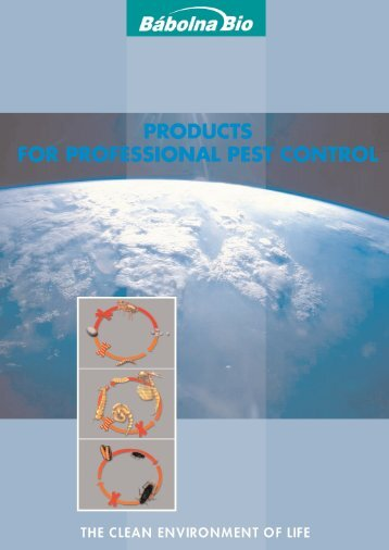 concentrates against stored product pests - Bábolna-Bio Kft.