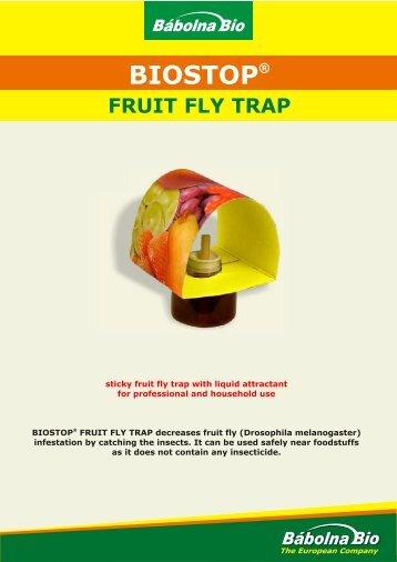 biostop fruit fly trap.cdr - Bábolna-Bio Kft.