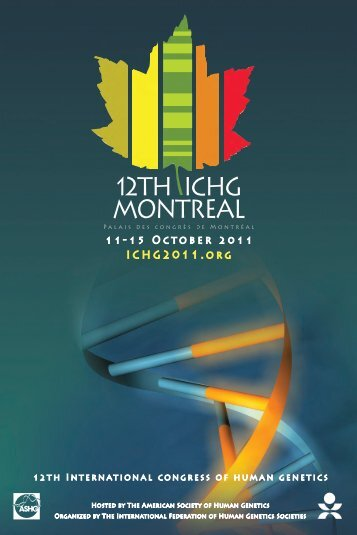 american society of human genetics - ICHG 2011