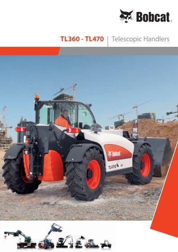 TL360 - TL470 | Telescopic Handlers - KONO
