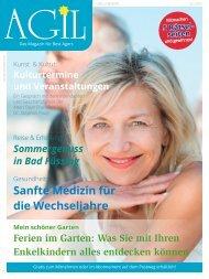 AGIL-DasMagazin - Ausgabe Juli 2015