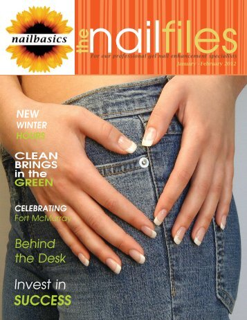 nailbasics January/February newsletter the nailfiles
