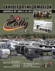 Louisville Exhibitor Packet - The Rally