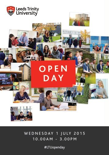 Open Day Guide 2015