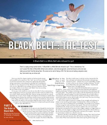 black belt essay requirements 2009-03-20 black belt essay we too rarely look back on our lives and take stock of where we've been and the decisions and circumstances that have brought us to our current situation i think that's one of the things i.