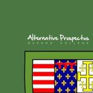 Queens' College Alternative Prospectus - Queens' College JCR