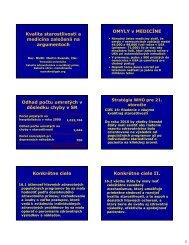 EBM, základy a výsledky uplatnenia