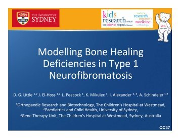 Modelling Bone Healing Deficiencies in Type 1 Neurofibromatosis