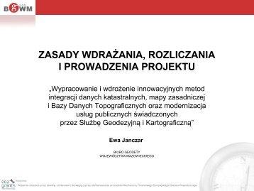 prezentacja - Departament Geodezji i Kartografii - Samorząd ...