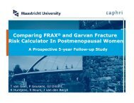 Comparing FRAX® and Garvan Fracture Risk Calculator In ...