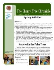 Cherry Trees march.pdf - The Gillen Brewer School