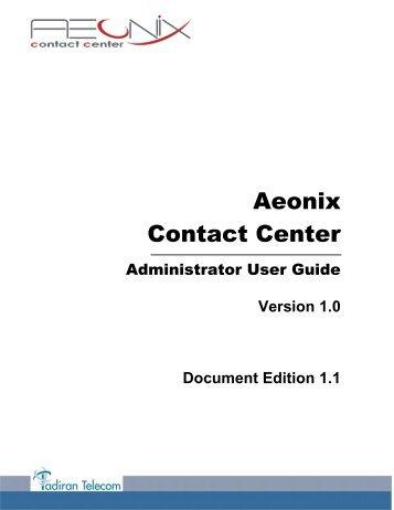 Aeonix Contact Center