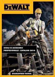 SCULE SI ACCESORII PROFESIONALE - CATALOG 2014