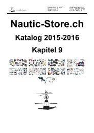 Nautic-Store.ch Bootszubehör Katalog Kapitel 9