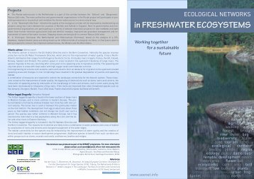 Ecological networks in freshwater ecosystems - ECNC