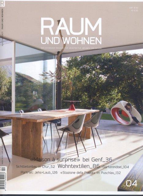 Raum Und Wohnen April 2011 Tree Tops - Jocelyn Warner