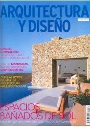 Arquitectura y Diseño N. 88 Abril 2008