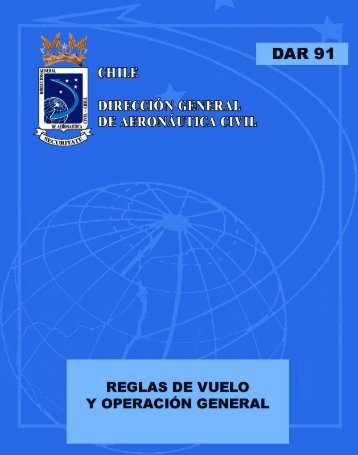 DAR 91 - Dirección General de Aeronáutica Civil