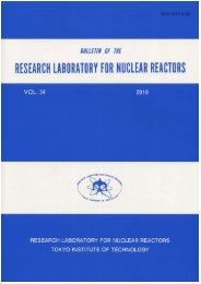 Untitled - Research Laboratory for Nuclear Reactors