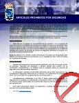Artículos Prohibidos - DGAC - Page 2