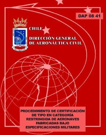 DAP-08 41 - Dirección General de Aeronáutica Civil