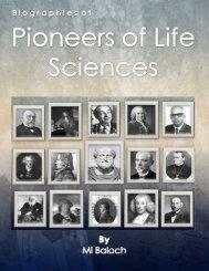 Pioneers of Life Sciecnes