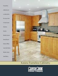 Katana Frameless Cabinetry - Canyon Creek Cabinet Company