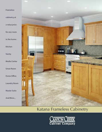 Katana Frameless Cabinetry - Canyon Creek Cabinet Company