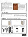 View Katana Specifications - Canyon Creek Cabinet Company - Page 4