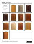 View Katana Specifications - Canyon Creek Cabinet Company - Page 5