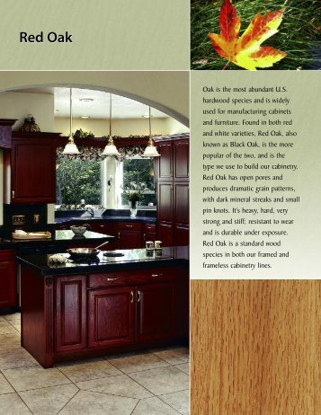 Red Oak - Canyon Creek Cabinet Company